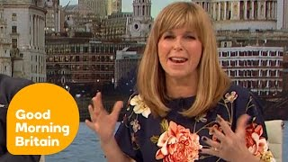 Ben Shephard Asks Kate Garraway To Take Him To Bed! | Good Morning Britain