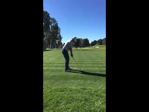 Jordan Spieth Down The Line Swing Slow Motion