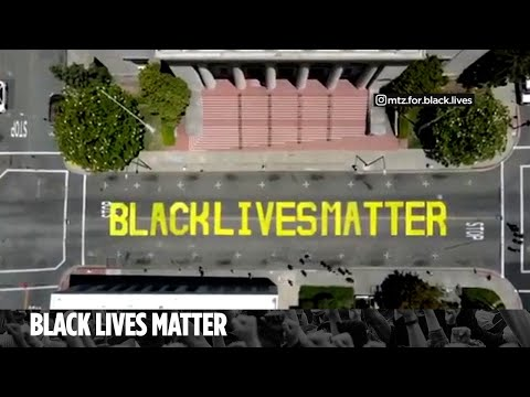 California couple charged with a hate crime for painting over Black Lives Matter mural