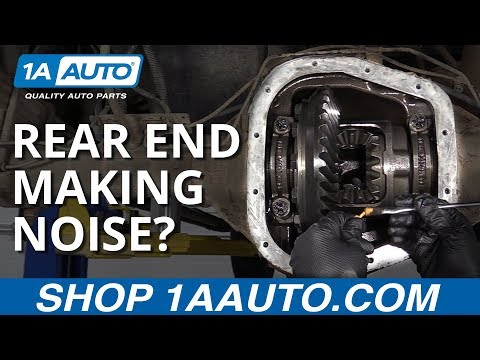 Fix a Rear End Differential Problem - Rear End Making Noise?