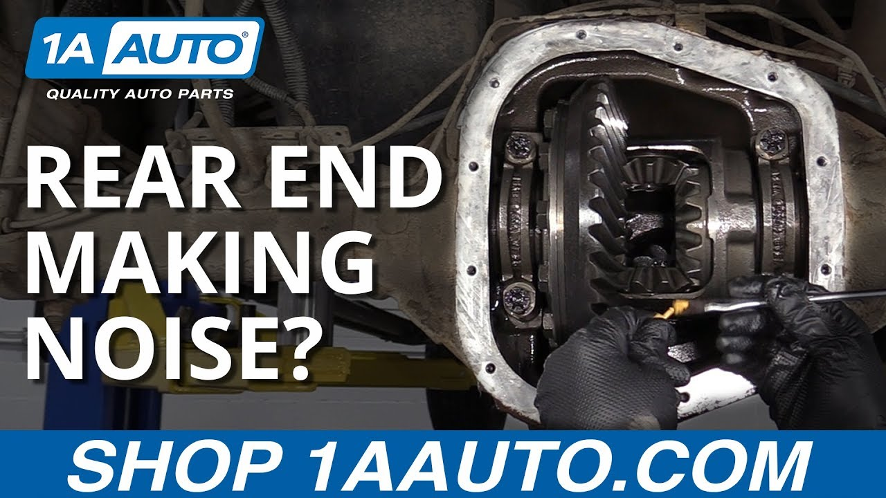 rear end noise? diagnose and fix a differential in your car, truck, or suv  - youtube  youtube