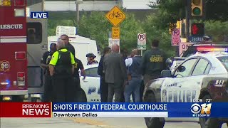 UPDATE: Shooter In Custody After Shots Fired At Federal Building In Dallas