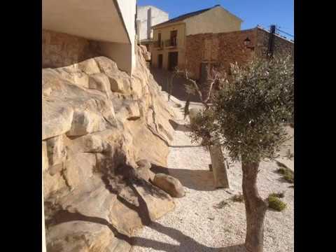 Tematizaci n rocas imitaci n piedra en parques y jardines for Cascadas para jardin piedra