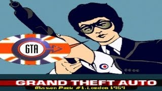 Grand Theft Auto: London, 1969 Game Review (PS1)