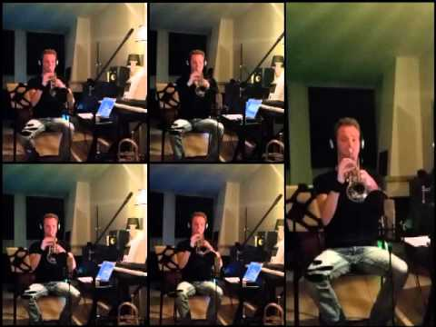 Carol of the Bells, Trumpet - Pentatonix by Robin Bogert