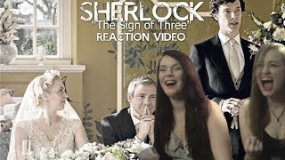 SHERLOCK - THE SIGN OF THREE - DRUNK REACTION VIDEO