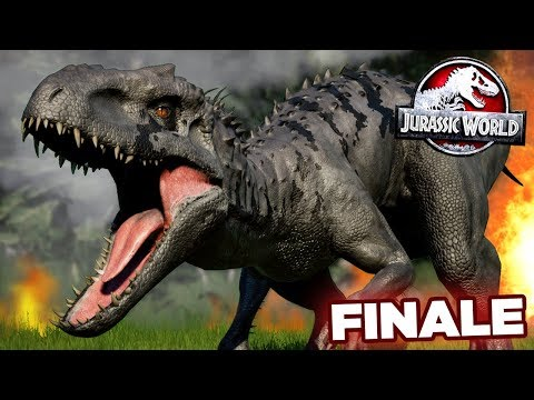 BLACK INDOMINUS RAMPAGE!!! - Jurassic World Evolution - JURASSIC MODE | FINALE HD