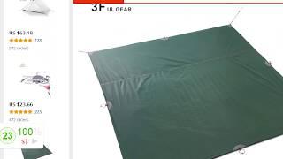 Тент для палатки по цене со скидкой за 5 $ обзор