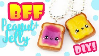 Peanut butter & Jelly BFF CHARMS! | KAWAII FRIDAY