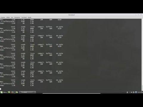 Linux básico - Aula 21 - Comando free
