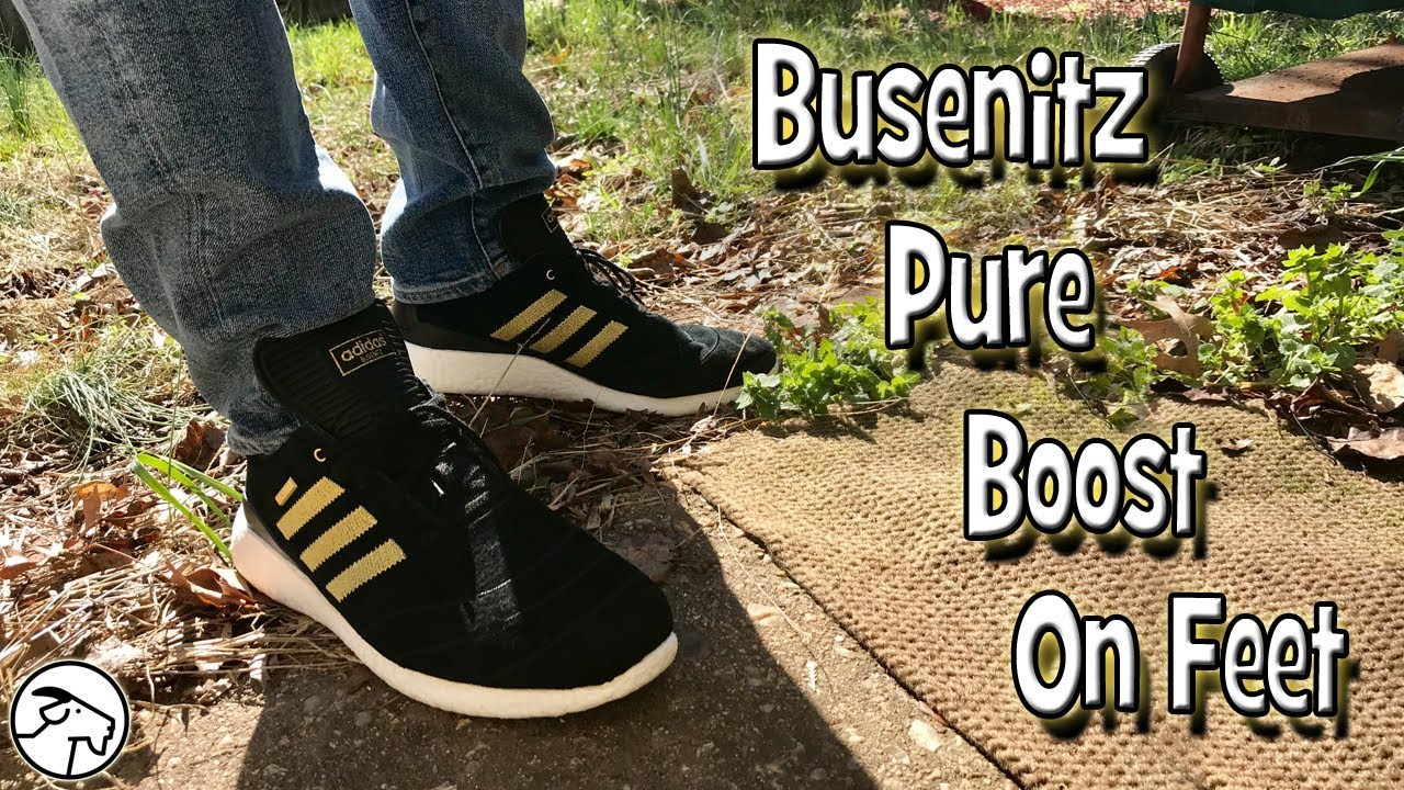 low cost db6f6 28bbf Adidas Busenitz Pure Boost 10th Anniversary On Feet Review