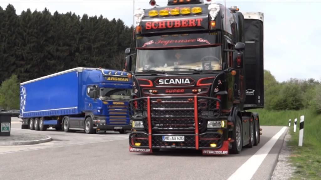 Andreas Schubert Scania R620 Youtube