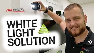 Hikvision PIR White Light Camera Alarm Solution How to Guide