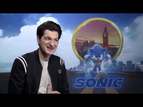 Ben Schwartz goes full improv during an interview on Sonic the Hedgehog