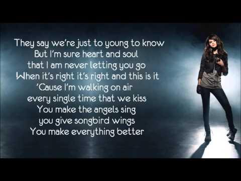 Selena Gomez   I Promise You lyrics