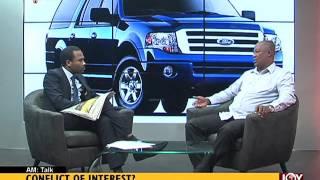 Conflict of interest - AM Talk on Joy News (16-6-16)