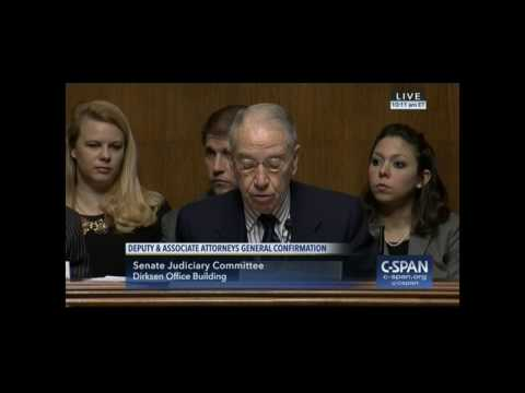 Senator Chuck Grassley Calls Out Democrats