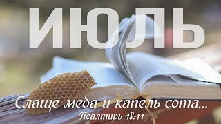 1 Июль - Вторая книга Царств, главы 8-11 | Библия за год