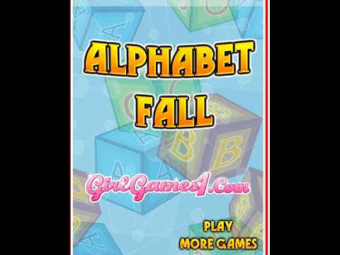 Alphabet Fall Typing Games For Kids