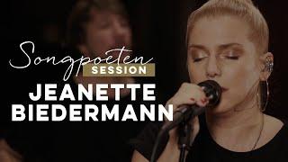 Jeanette Biedermann - Wie ein offenes Buch (Songpoeten Session)