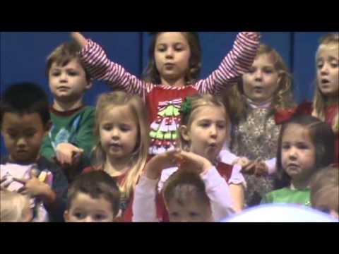 First Baptist Preschool Christmas Program 2012