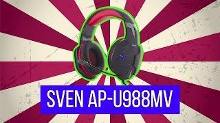 Тест игровых ушей SVEN AP-U988MV за $40