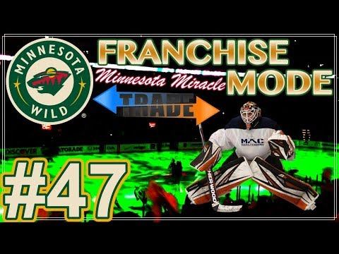 "NHL 18 Minnesota Wild Franchise Mode #47 ""A Trade For The Kuhl Kids!"""