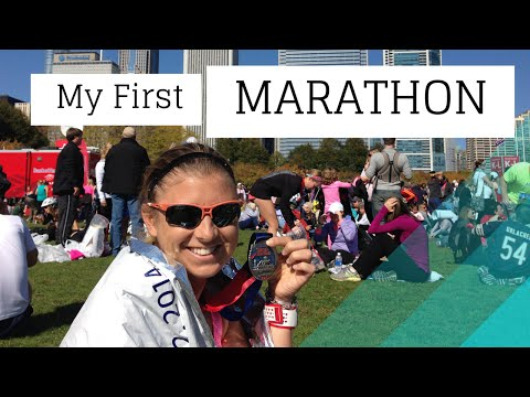 How I Survived Running My 1st Marathon - New Year's Resolution Time