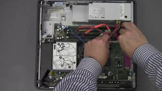 computer disassembly/assembly (Dell Optiplex 745)