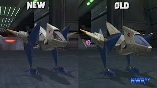 Star Fox Zero: New Footage Graphics Comparison