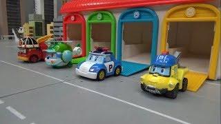 로보카폴리 경찰차 출동! 장난감 놀이 Robocar Poli Police Car Dispatch! Toys Play