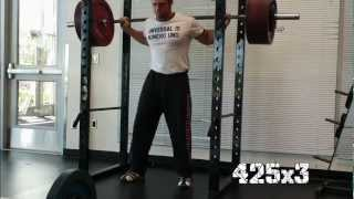Back To The Grind Sheiko Squats And Bench Press Ben Rice