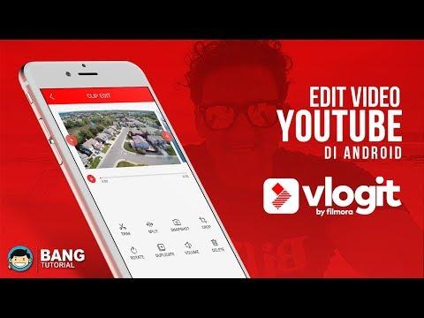 Cara Edit Video Youtube / Vlog Di Hp Android | VLOGIT TUTORIAL #1
