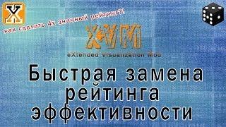 XVM - быстрая замена рейтинга эффективности