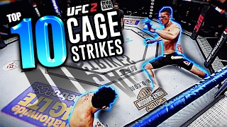 EA SPORTS UFC 2 - TOP 10 CAGE Strike Knockouts
