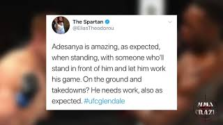 UFC Fighters react to Israel Adesanya win over Marvin Vettori at UFC Glendale