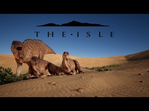 The Isle: REALISM, SHANT HERD & BABIES & UTAH PACK ATTACKS!