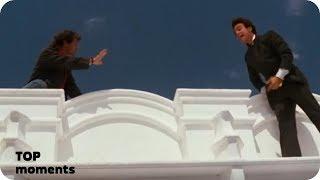 Риггс спасает самоубийцу. Смертельное оружие (1987)