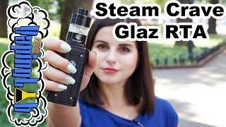 Steam Crave Glaz RTA. Большой и прозрачный