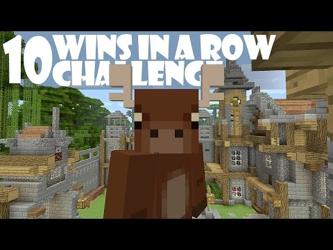 Minecraft Battle Mini-Game - 10 WINS IN A ROW CHALLENGE! [1]
