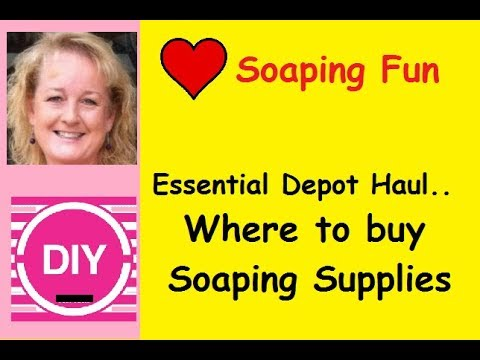 Opening the Box.. Essential Depot Haul with Essential Soap
