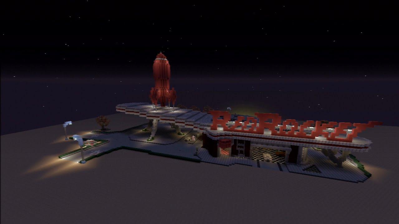 Minecraft PS3 Edition : Build Showcase Ep2