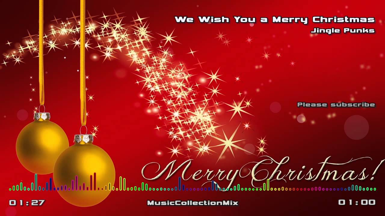 We Wish You a Merry Christmas - Instrumental Music - YouTube