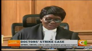 Doctors given 7 more days to end strike