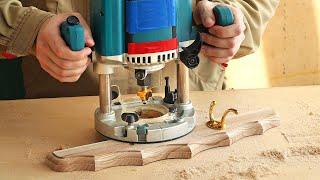 4K Изготовление и фрезерование настенной вешалки, Making And Milling A Wall Hanger