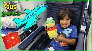 FIRST TIME Business Airplane Ride to Japan with Ryan ToysReview!!!