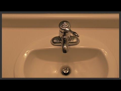 Bathroom Faucet Drain bathroom faucet with drain replacement - youtube