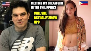 Meeting my Filipina girlfriend for the first time!