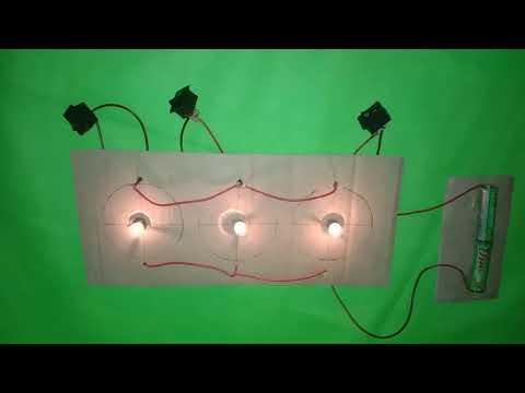 DIY Lampu Lalu Lintas? || listrik sederhana.