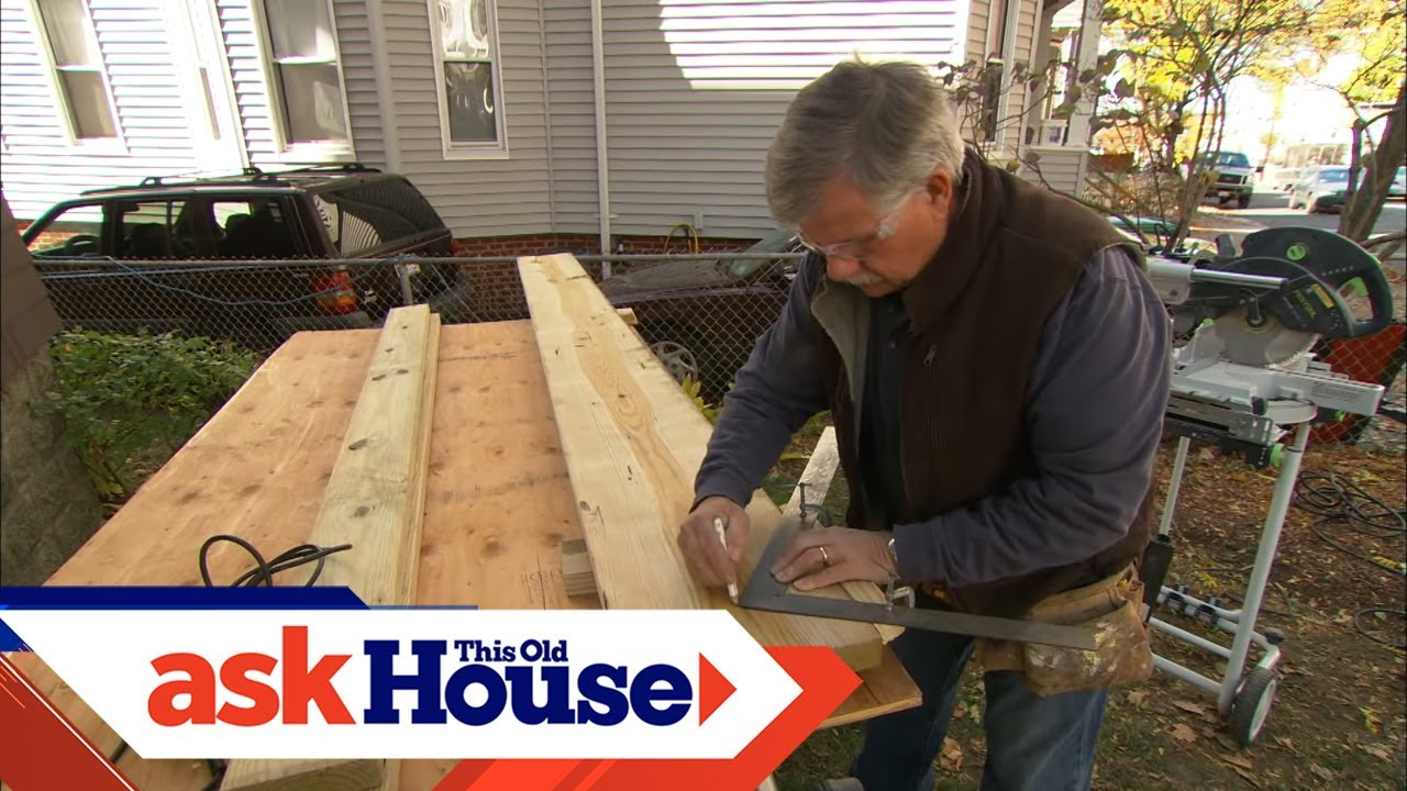 how to build porch stairs | ask this old house